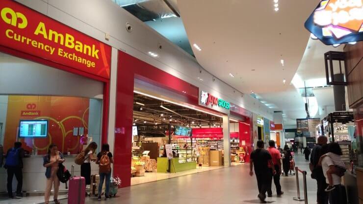 クアラルンプール空港スーパー